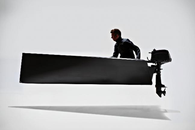 Minimalistyczna łódka