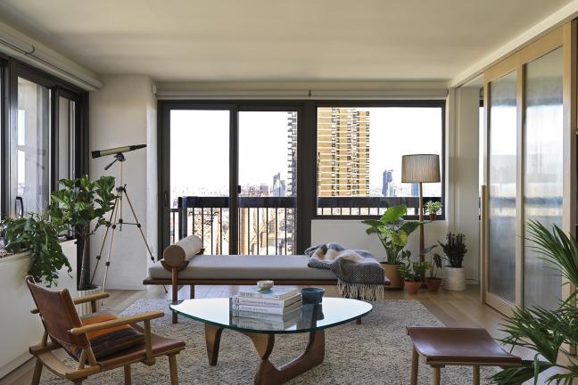 Mieszkanie na Manhattanie w brutalistycznym wieżowcu