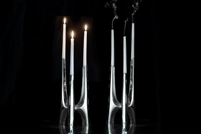 Świecznik Triglav – nowy projekt Zieta Studio inspirowany gotykiem