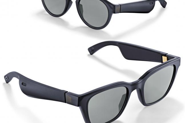 Okulary z wbudowanymi słuchawkami