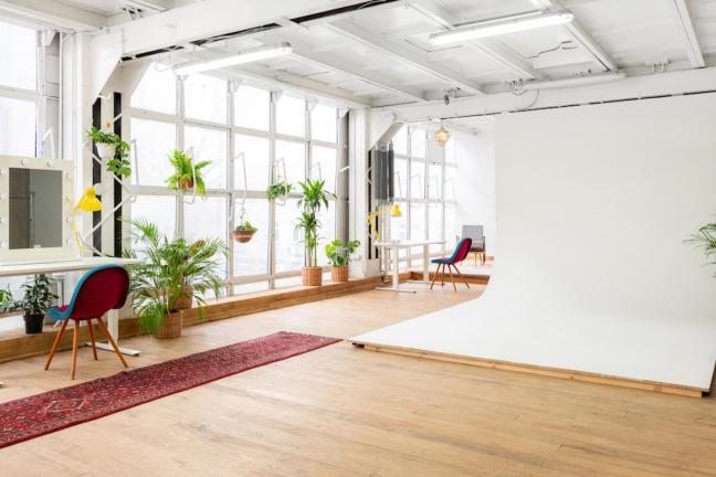 Przestrzeń kreatywna w stylu vintage na Żoliborzu