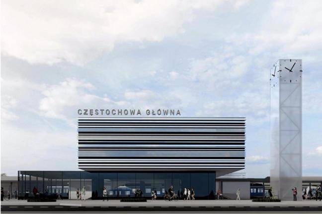 Nowy dworzec w Częstochowie