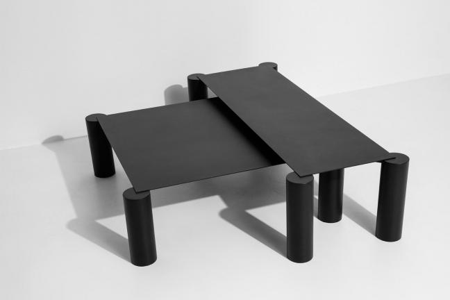 Table in the center