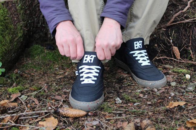 Buty wykonane w 90% z materiałów pochodzących z recyklingu