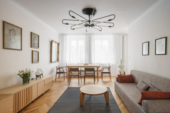 Warszawski apartament w kamienicy z 1939 roku