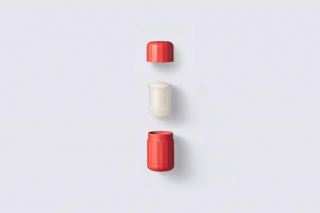 Dezodorant, którego produkcja pochłania 50% mniej plastiku