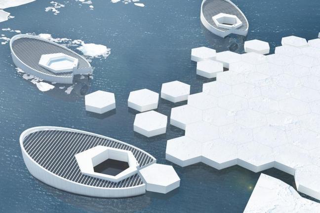 Ponowne zamrożenie Arktyki remedium na topnienie lodowców