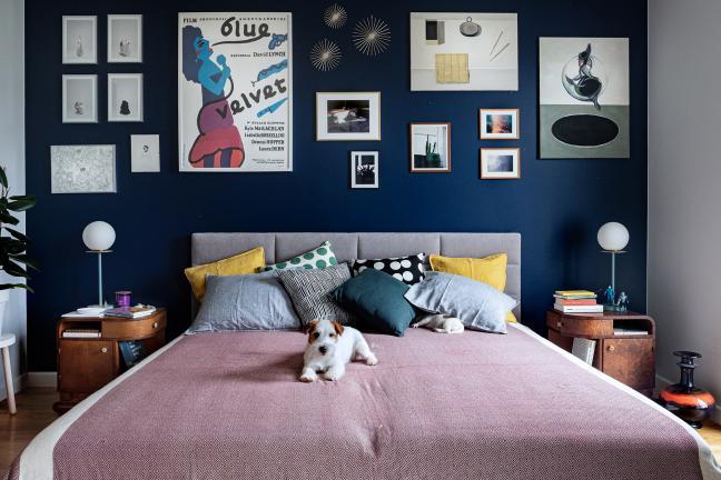 Zoom na: sypialnię kreatywnej pary