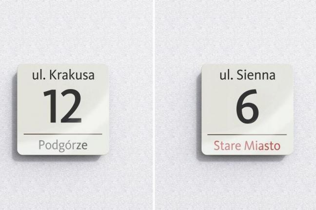 Nowe tablice z nazwami krakowskich ulic